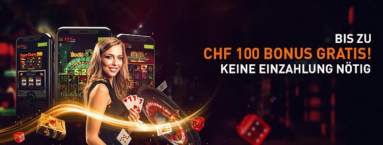 Bis zu CHF 100 gratis!